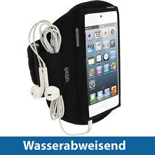 Schwarz Jogging Armband für Apple iPod Touch 6. & 5. Generation 5G 6G Tasche Gym