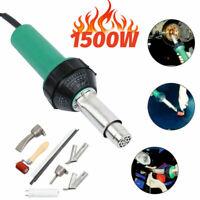 1500W Professional Hot Air Welding Tool Kit PVC Plastic Vinyl Floor Heat Gun Set
