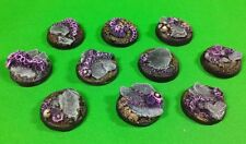 Warhammer 40K 25mm Resin Alien Base Set (10)
