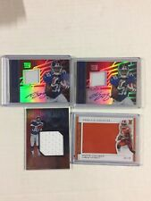 WAYNE GALLMAN 4 Card Rookie Auto Jersey Serial Numbered 4 Card Lot