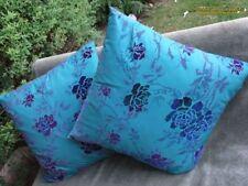 Satin Floral & Garden Square Decorative Cushions