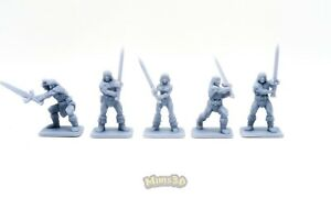 Minis3D -Rep. Heroquest - Remake DungeonWorks - Barbarian (female, prototype ...