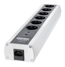 Supra Cables Netzleiste mit Netzfilter 6-fach MD06-Eu/SP MK III