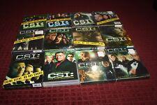 CSI: Crime Scene Investigation Complete Series 1-12 DVD *Brand New Sealed*