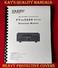 Highest Quality ~ Yaesu FTdx5000 Operating Manual 😊C-MY OTHER MANUALS😊