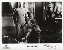 CHRISTOPHER LEE - Stamped 10x8 Photograph - FILM - THE MUMMY