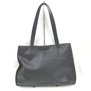 Chanel Tote Bag  Black Leather 1711840