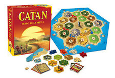 NEW IN BOX CATAN 5th Edition (formerly The Settlers of Catan) Family Board Game