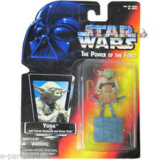 Star Wars Power of the Force Yoda w/ Jedi Trainer Backpack ~ Collectible Toy