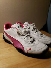 Kids Puma Tune Cat 3 Sneaker Shoes 361634 08 White Pink 100/% Authentic Brand New
