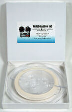 """*NEW* 100' x 1/4"""" WHITE PAPER LEADER TAPE FOR REEL TO REEL EDITING on TEAC OTARI"""