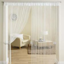 Beautiful polyester door String Curtain - 7ft white color 1 door string curtain