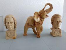 Mezzo busto Mozart Bach Elefante