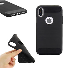 ^ Simple Black TPU Schutzhülle Tasche Cover Hülle Case Motorola Moto E5 Plus