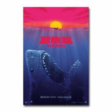 The Meg Movie Print Art Silk Poster