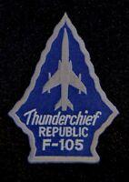 USAF Republic F-105 Thunderchief Patch Thud Vietnam War Century Series Fighter