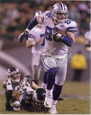 **JASON WITTEN** Dallas Cowboys Autographed 8x10 Photo (RP)