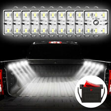 Car Camper RV Van 12V LED Interior Ceiling Dome Lights Lamp w/ switch 10 Modules