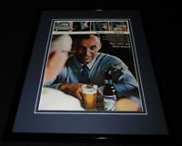 1966 Busch Beer Framed 11x14 ORIGINAL Vintage Advertisement