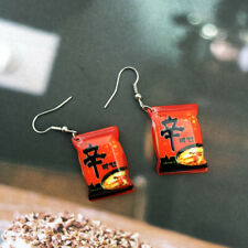 Food Play Drop Earrings Simple fashion 2019 New Funny Favor Small chili