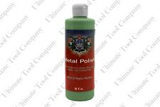 16oz Bottle Green Metal Polishing Compound | High Luster Metals One Step Shine