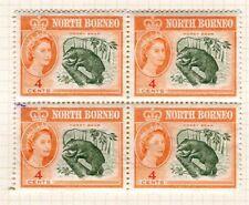 Mint Hinged North Borneo Stamp Blocks