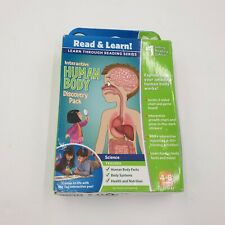 LEAP FROM READ AND LEARN HUMAN BODY PACK USED GOOD CONDITION (S2)