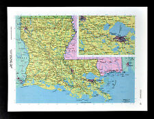 Map Of America New Orleans.New Orleans Louisiana Antique North America Maps Atlases