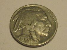 1936-P & S Buffalo Nickels