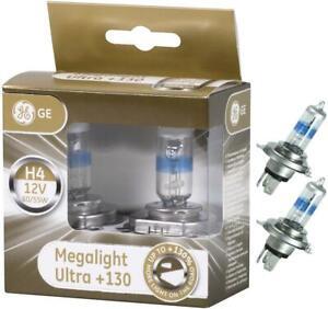 2X GE H4 Birnen Scheinwerfer Lampen Lampe Leuchte 12V Auto Halogen Headlight  AK