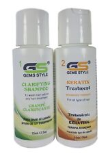 CHOCO-COCOA KERATIN TREATMENT GS GEMS STYLE-SOFT For All hair types. 2.5oz/75ml