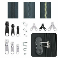 84 Pcs Zipper Tête Réparation Remplacement Fermeture Éclair Glissière FR