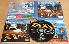 Taxi 2: le jeu PARA SEGA DREAMCAST Rara Completa En Excelente Estado