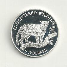 Niue 5 Dollars 1992 Wildlife - Jaguar PP Polierte Platte