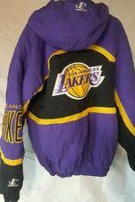 La Lakers koby Shaq Baskeball Puffy coat mid 90s Hooded Jacket Logo Athletic XL
