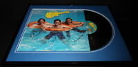 The Monkees Group Signed Framed 1987 Pool It Record Album Display JSA