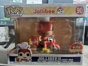 Funko Pop Jollibee On Delivery Bike