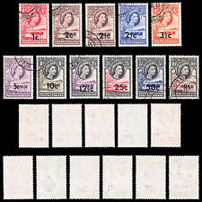 Used Multiple Bechuanaland Stamps (Pre-1966)