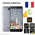 "OUKITEL K6000 Plus 4G Smartphone 5.5"" 6080mAh Android7.0 Octa Core 4G/64G 16Mpx"