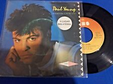 PAUL YOUNG - WHEREVER I LAY MY HAT - PORTUGAL 45 SINGLE
