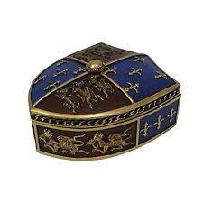 Medieval Box - Trinket Box / Nemesis Now / Fleur De Lys