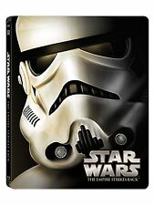 STAR WARS : THE EMPIRE STRIKES BACK (STEELBOOK) -  Blu Ray - Sealed Region free