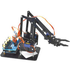 DIY Robot Arm Claw Arduino Servosset Mechanical Grab Manipulator Assembled Gifts