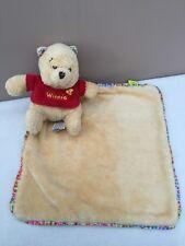 Disney Winnie The Pooh Baby Comforter Blankie Snuggle Boy/girl Blanket Soother