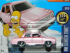 Hot Wheels 2017 The Simpsons Plymouth Valiant family car, embalaje original!
