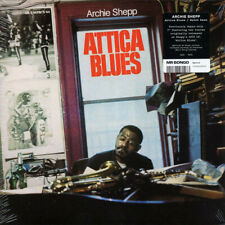 "ARCHIE SHEPP '' ATTICA BLUES "" NEW SEALED 7"" JAZZ"