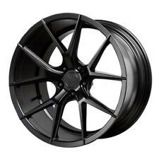 19x8.5/9.5 Verde Axis 5x115 +15/20 Satin Black wheels (set of 4)