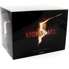 RESIDENT EVIL 5 PS3 Biohazard 5 e-Capcom limited edition Japan Import NEW RARE