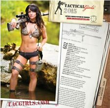2015 Tactical Girls Calendar 13 Months of Sexy Girls with Guns! M4 SIG COLT 1911