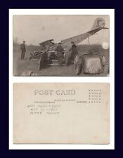 AVIATION CANADA EARL GREY SASKATCHEWAN PLANE CRASH McCLELLAND SASKATOON 1921